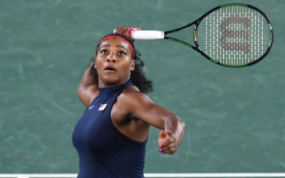 USA's Serena Williams  / AFP PHOTO / Luis Acosta