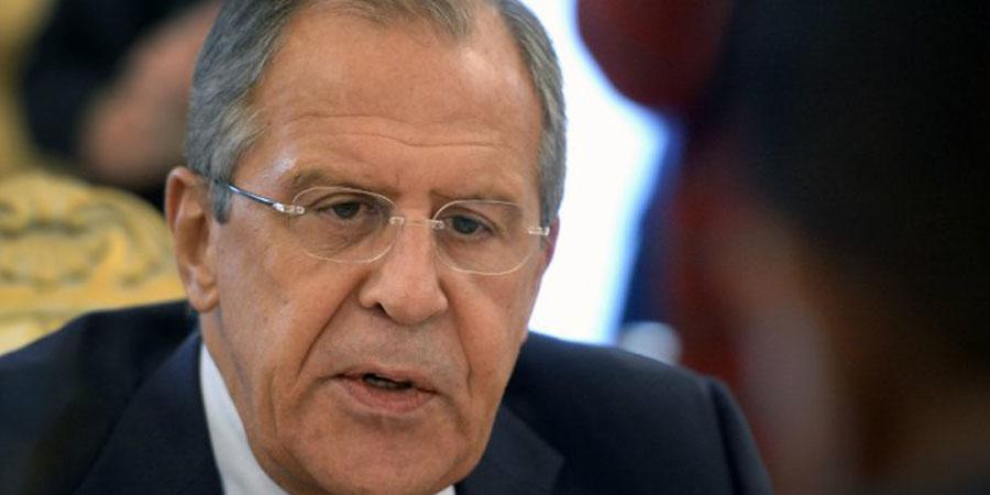 Sergei Lavrov. PHOTO:AFP