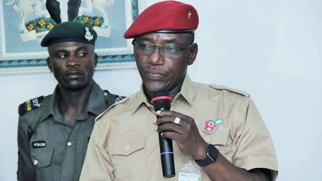 Solomon Dalung, Minister of Youth and Sport.