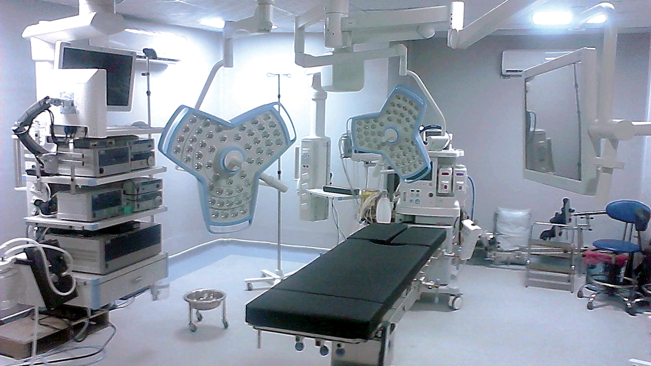 State-of-the-art surgery theatre at Lily Hospital, Warri, Delta State
