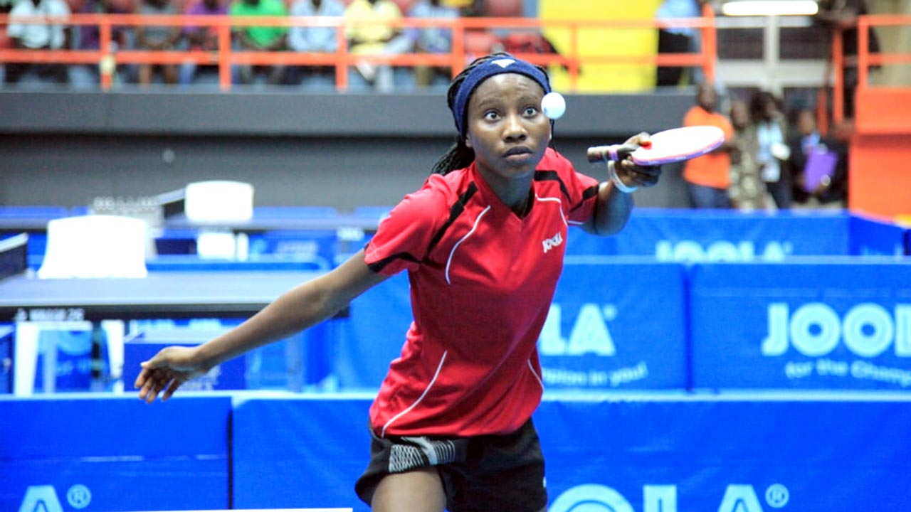 Tosin Oribamishe is one of the 20 invited junior table tennis players for camping in Lagos.