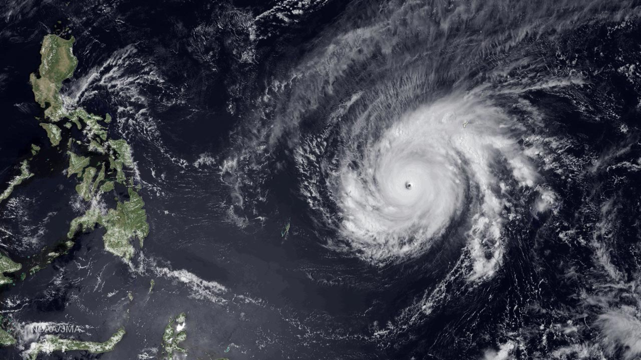 Typhoon Kompasu is expected to hit northern Hokkaido island Sunday evening. PHOTO : NOAA