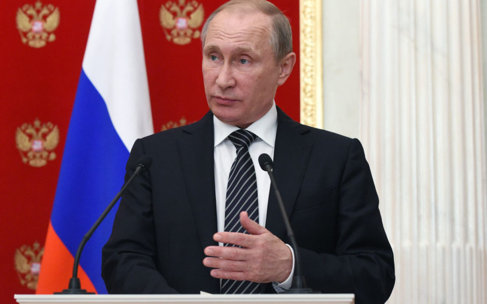 Russian President Vladimir Putin / AFP PHOTO / POOL / VASILY MAXIMOV