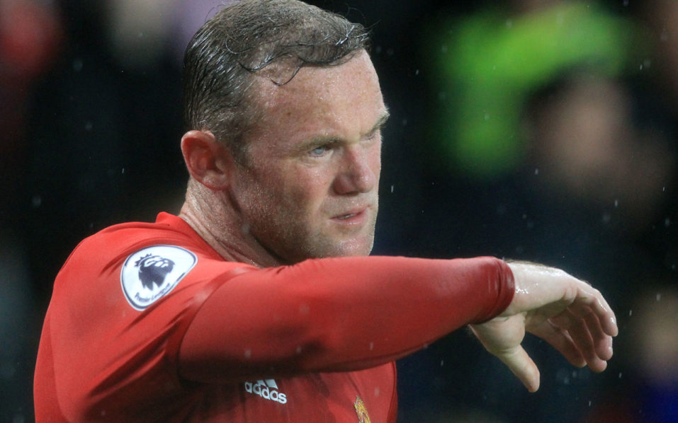 Manchester United's English striker Wayne Rooney / AFP PHOTO / Lindsey PARNABY /