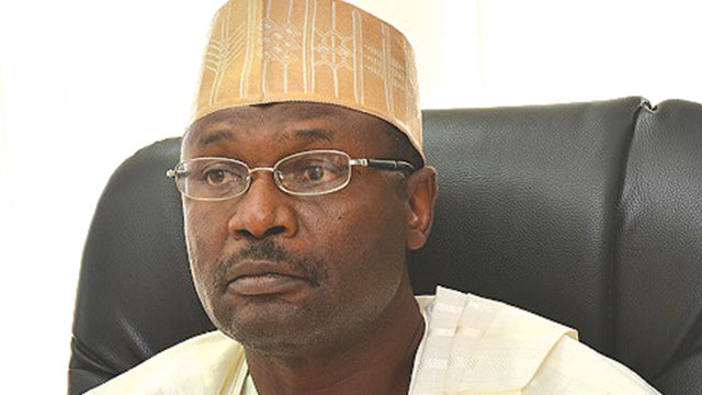 Chairman, Independent National Electoral Commission (INEC), Prof. Mahmood Yakubu.