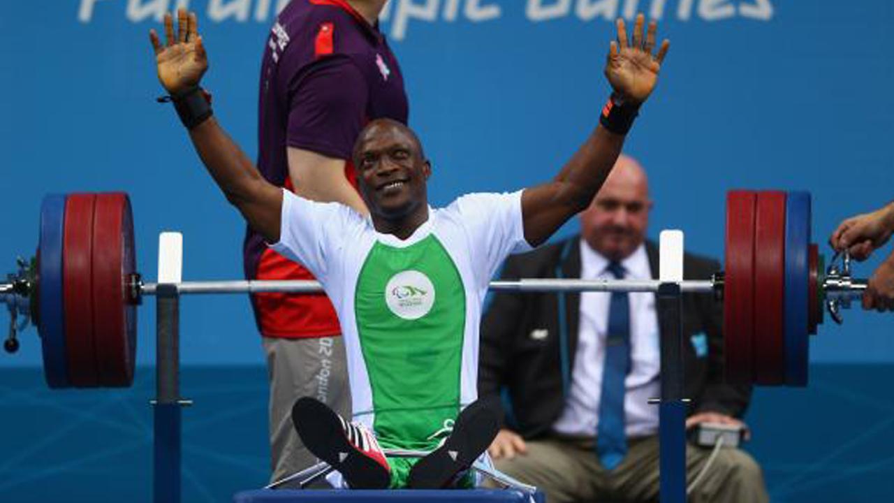 Yakubu Adesokan won gold at the London 2012 Paralympic Games. PHOTO: paralympic.org