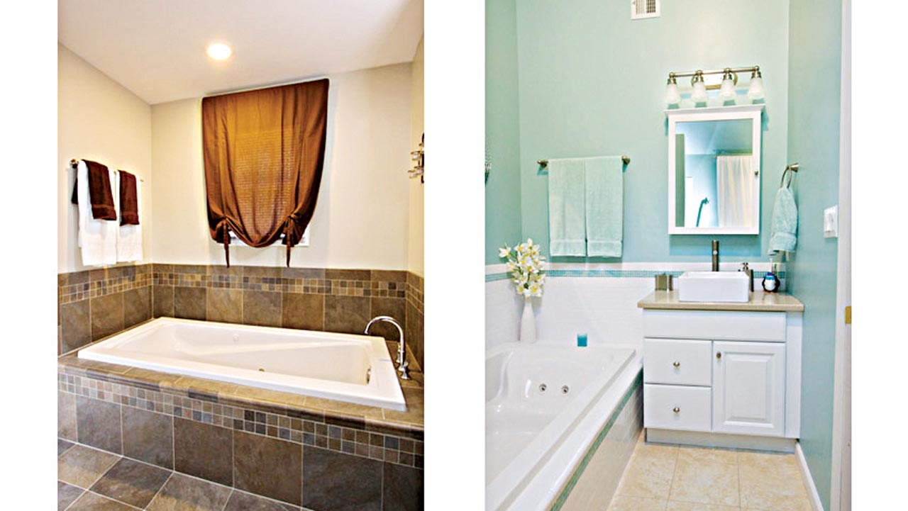 remodeling on a dime bathroom edition saturday magazine the