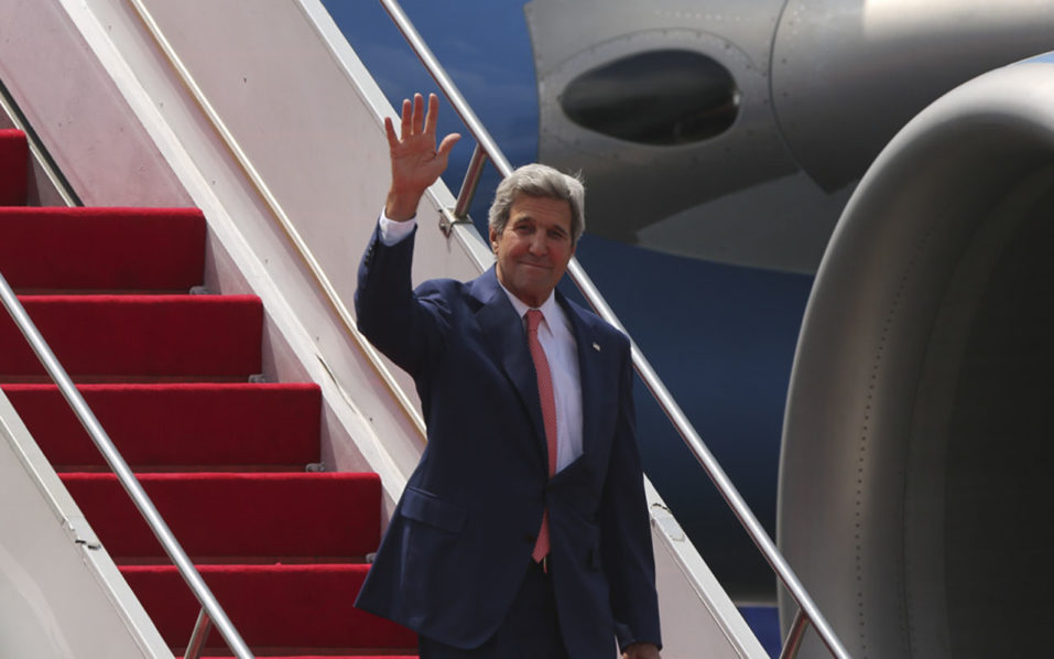 US Secretary of State John Kerry / AFP PHOTO / SYED ZAKIR HOSSAIN