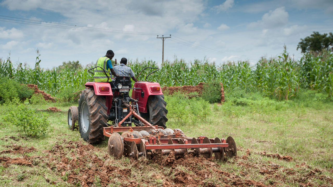 Mechanised farming