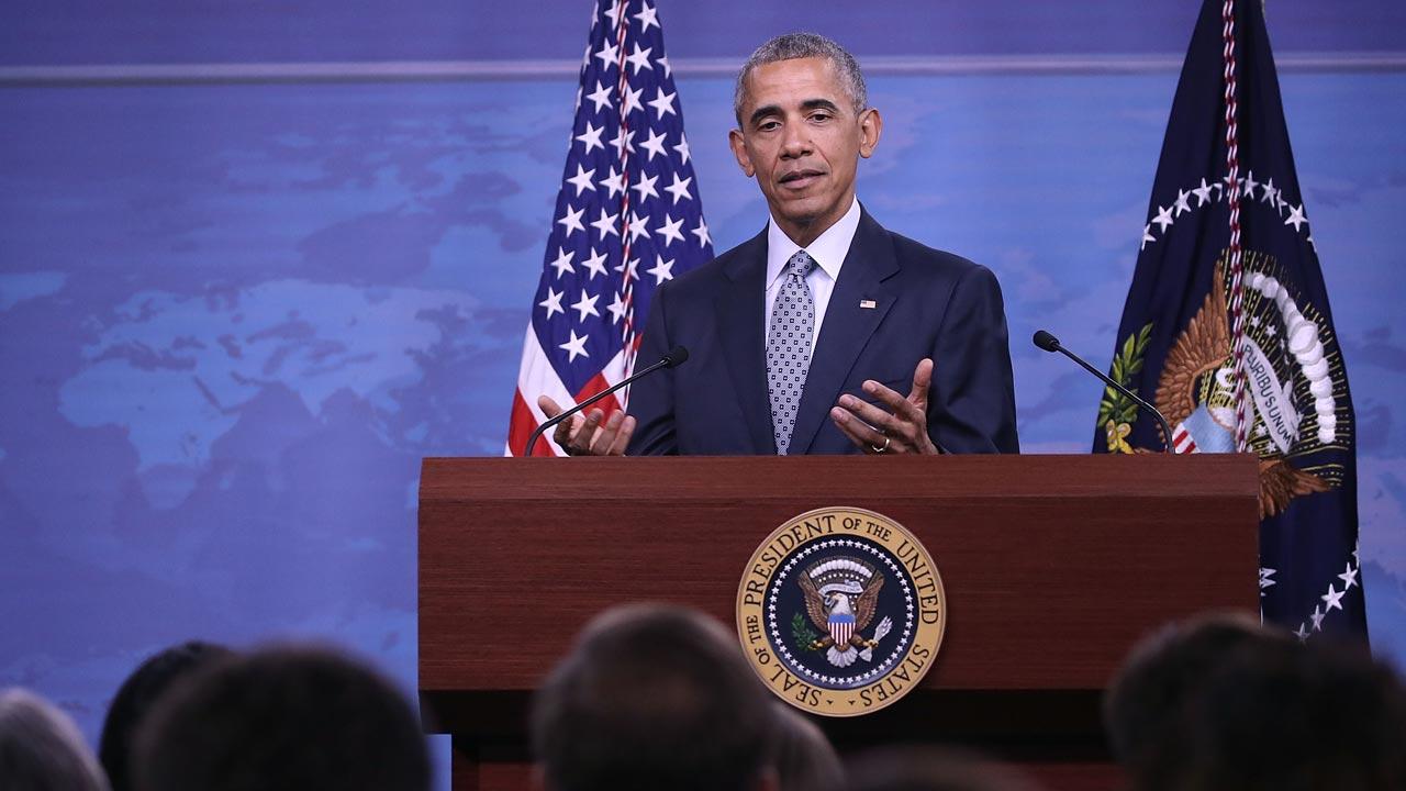 President Barack Obama. PHOTO: Mark Wilson/Getty Images/AFP MARK WILSON / GETTY IMAGES NORTH AMERICA / AFP
