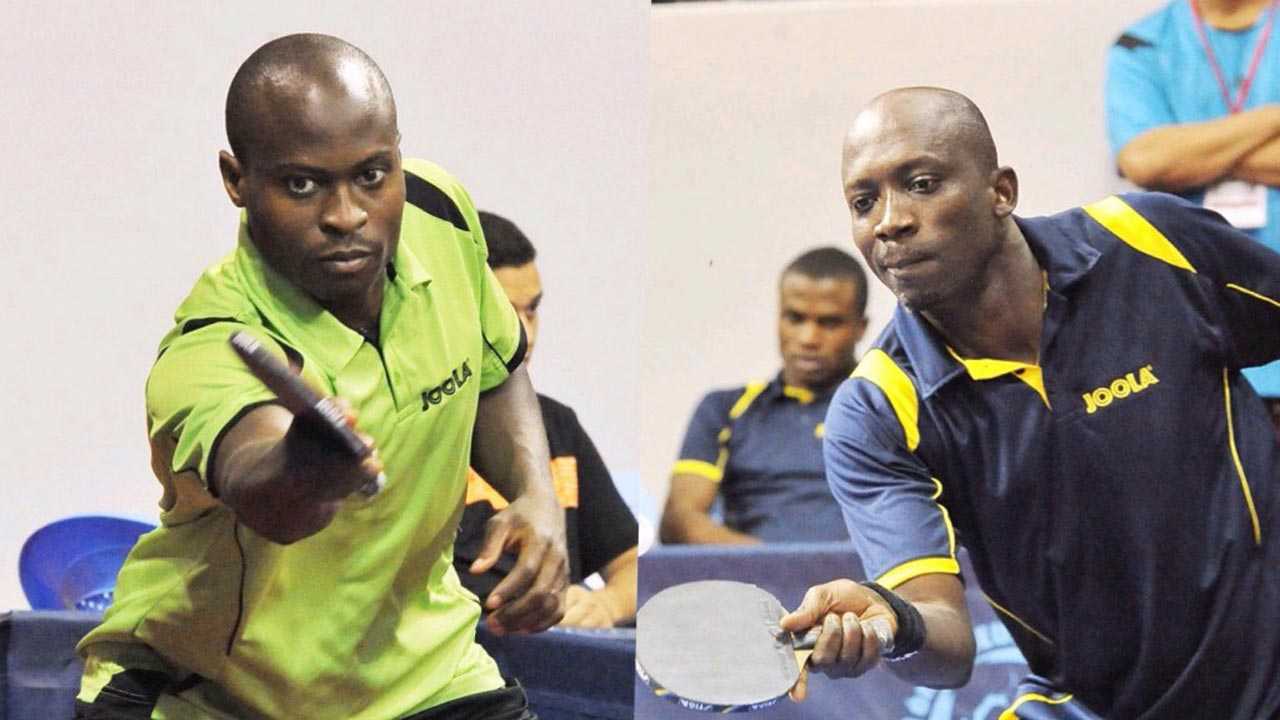 Nigeria's table tennis team, including Segun Toriola, Aruna Quadri and Abiodun was bundled out in the team event by China yesterday.