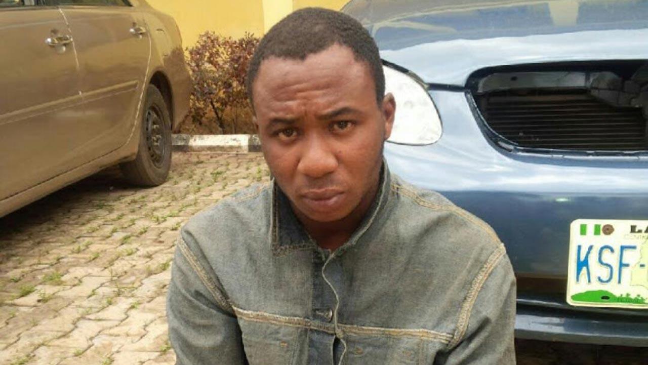 The suspect, Oweniwe Chukwudi