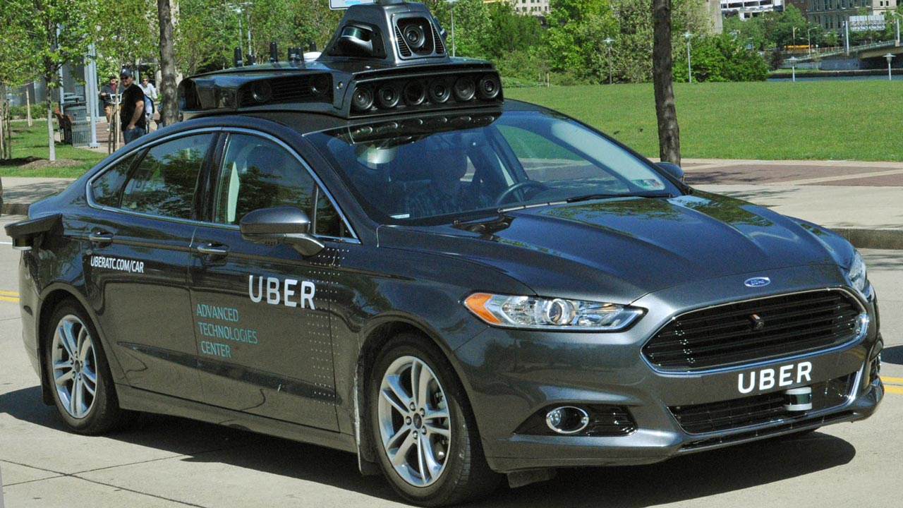 Uber is testing a driverless taxi on the streets of Pittsburgh. PHOTO: www.dezeen.com
