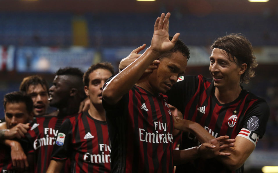 AC Milan' / AFP PHOTO / MARCO BERTORELLO