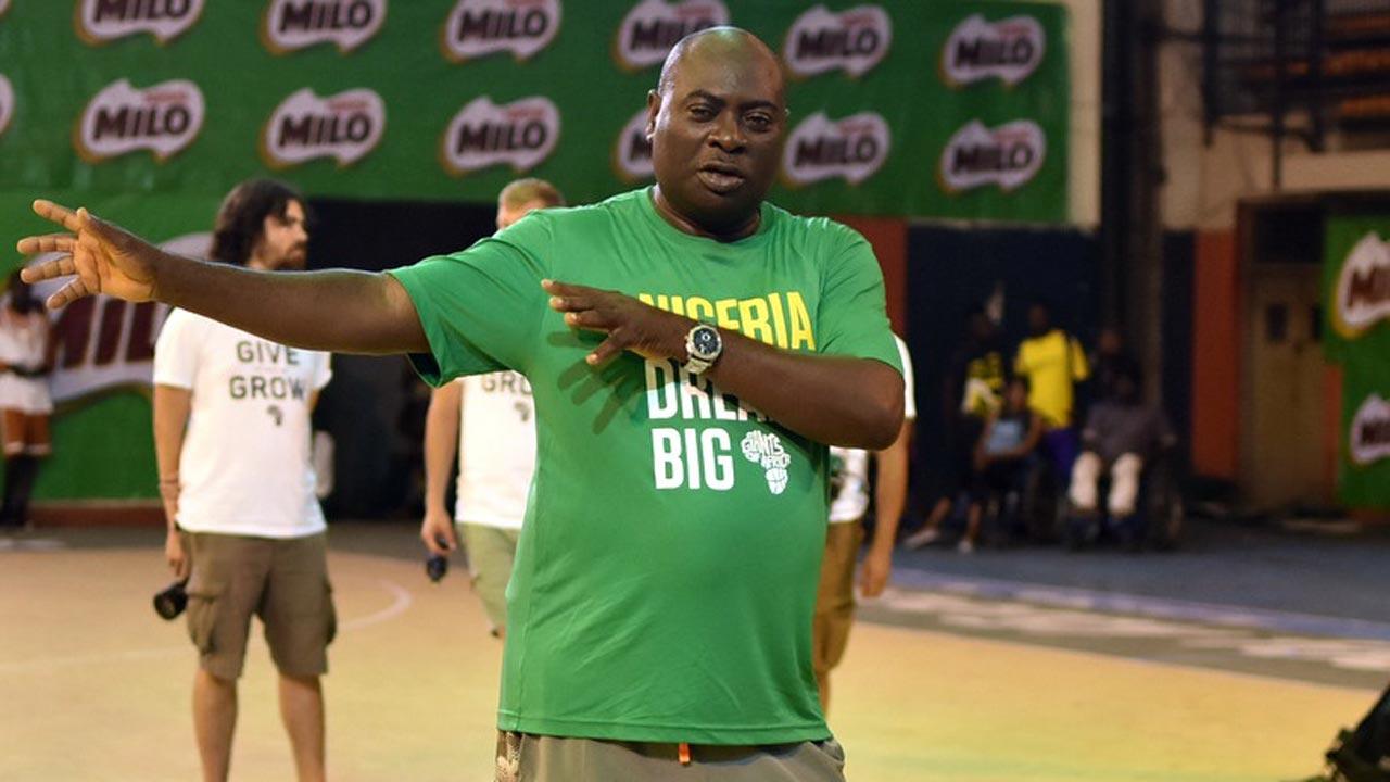 FIBA Africa Zone Three President, Col. Sam Ahmedu (rtd.)
