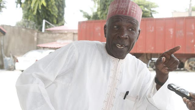 Memo To CoS: Nigerians have boarded 'one chance bus', says Galadima