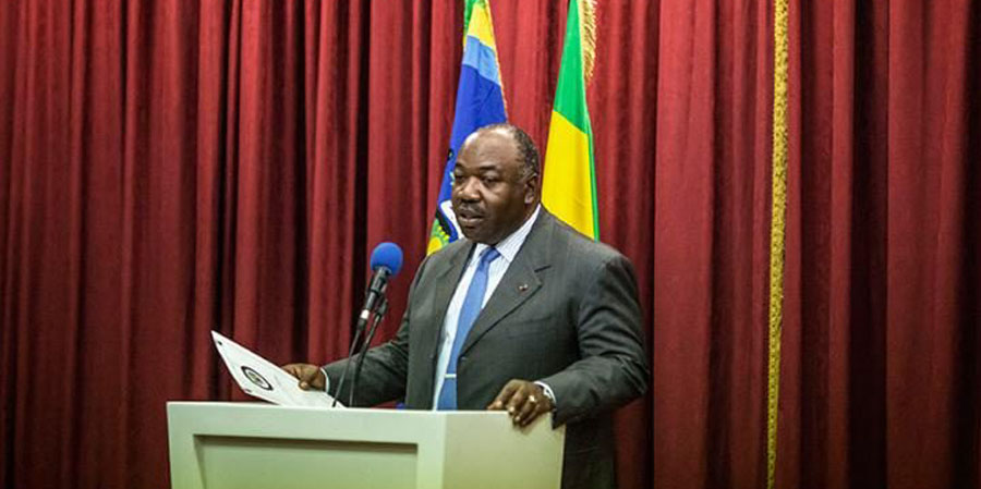Ali Bongo PHOTO: MARCO LONGARI/AFP