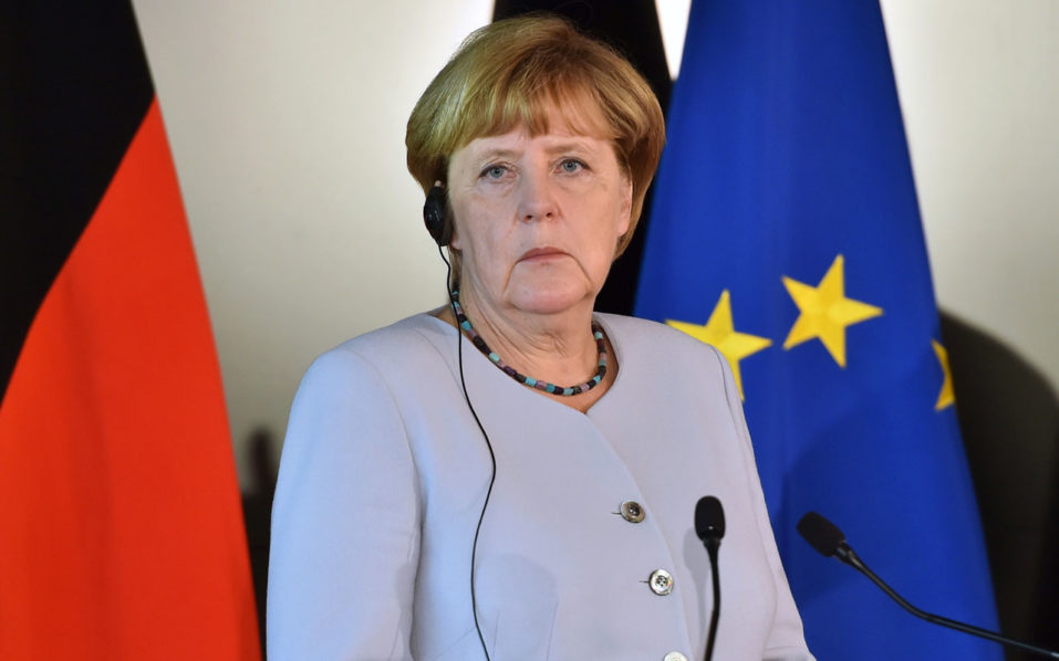 German Chancellor Angela Merkel / AFP PHOTO / Giuseppe CACACE