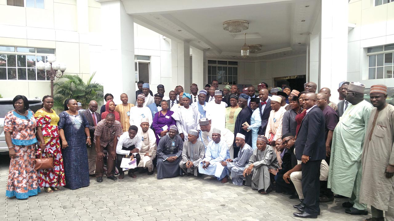 Members of the Association of Communication Scholars & Professionals of Nigeria (ACSPN), during the third annual conference in Abuja.