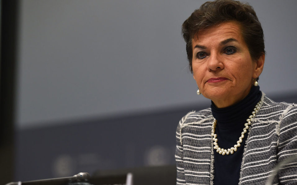 Christiana Figueres PHOTO:AFP/Getty Images