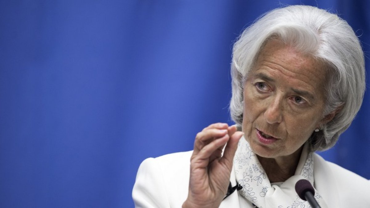Christine Lagarde, PHOTO:AFP