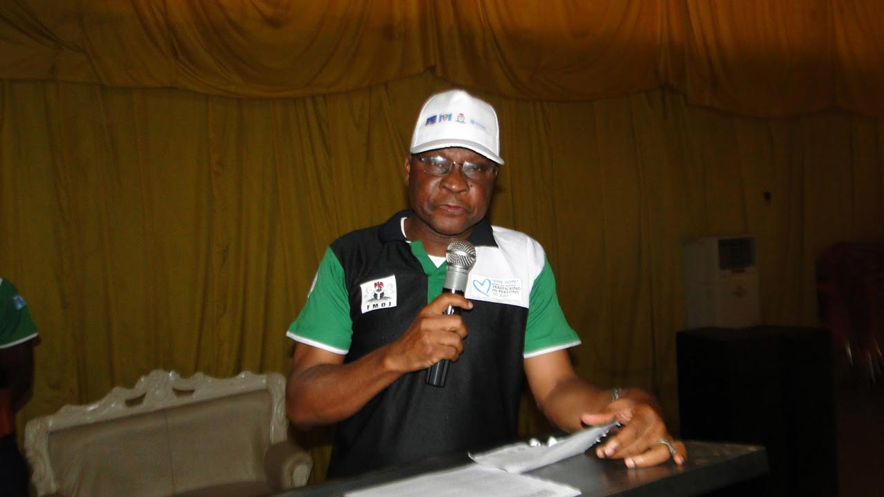 Acting Director General of NAPTIP, Abdulrazak Dangiri