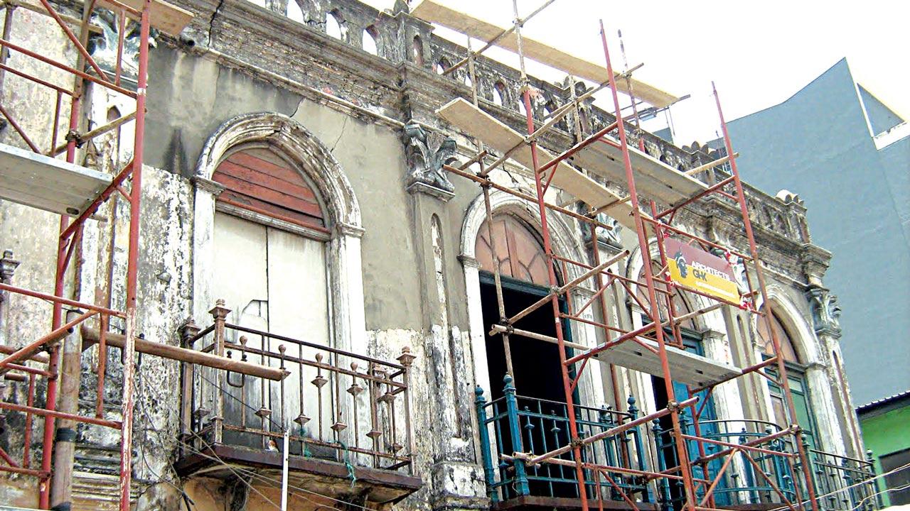 Ilojo Bar during pre-restoration valuation in 2011