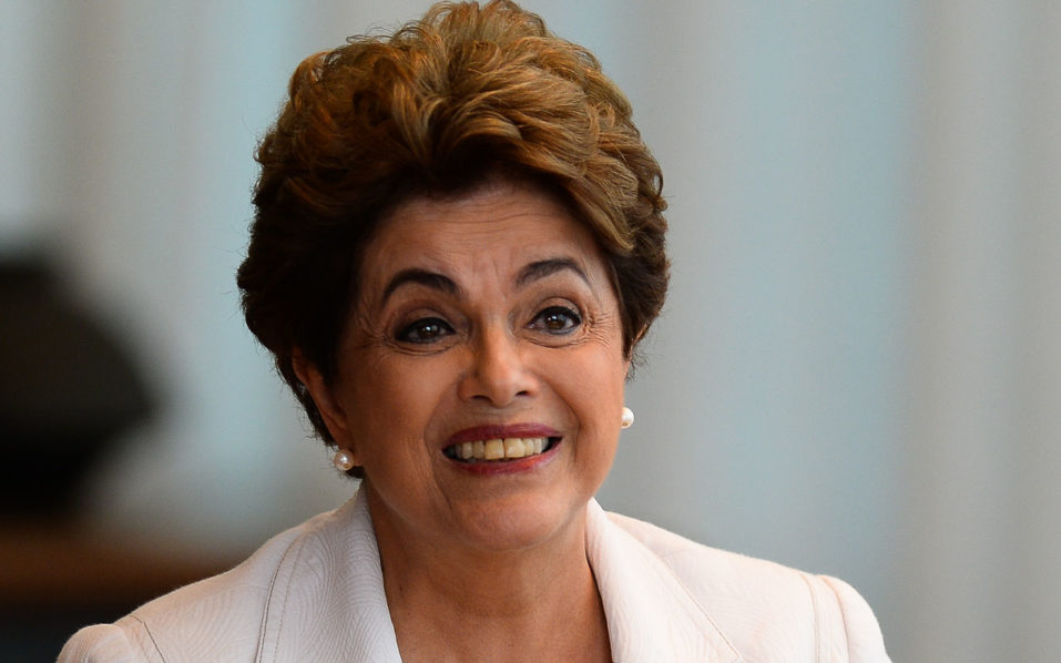 Dilma Rousseff / AFP PHOTO / ANDRESSA ANHOLETE