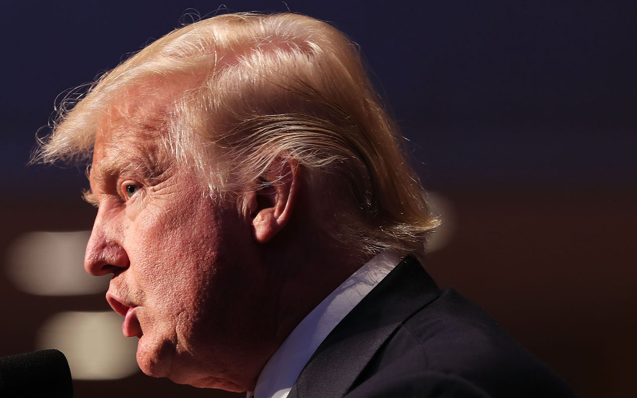 Republican presidential candidate Donald Trump / Spencer Platt/Getty Images/AFP