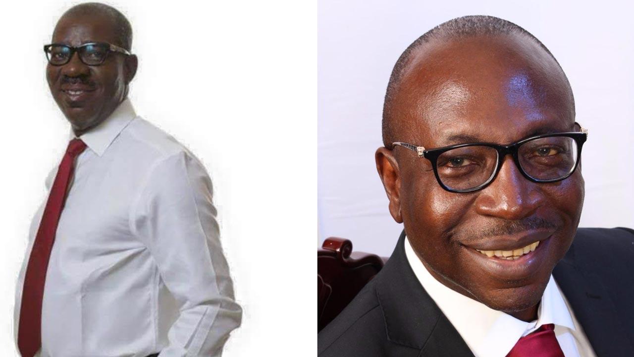 Godwin Obaseki and Osagie Ize-Iyamu