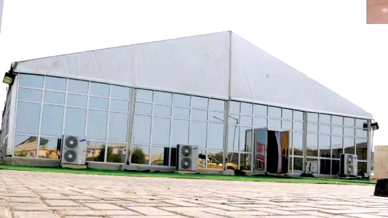 One of the event centres in Lagos
