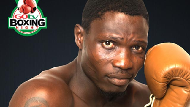 "Olaide ""Fijaborn"" Fijabi will meet Ghana's Raphael Kwabena King in a GOtv Boxing Night 9 bout on October 2."