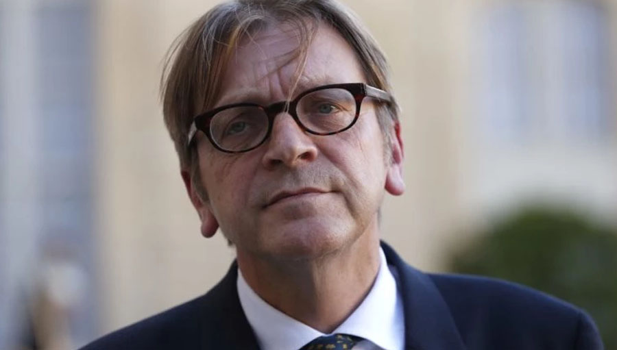 Guy Verhofstadt PHOTO: THOMAS SAMSON/AFP/Getty Images