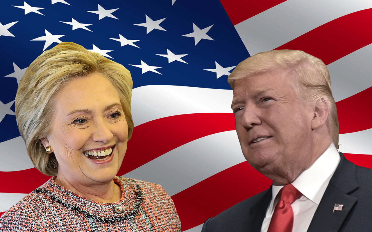 Hillary and trump