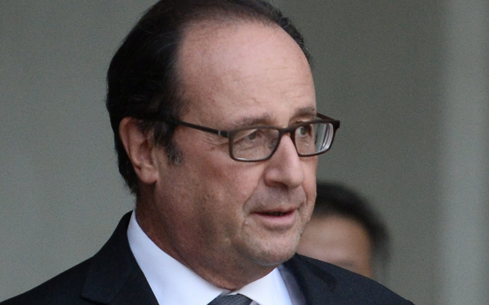 French President Francois Hollande / AFP PHOTO / STEPHANE DE SAKUTIN