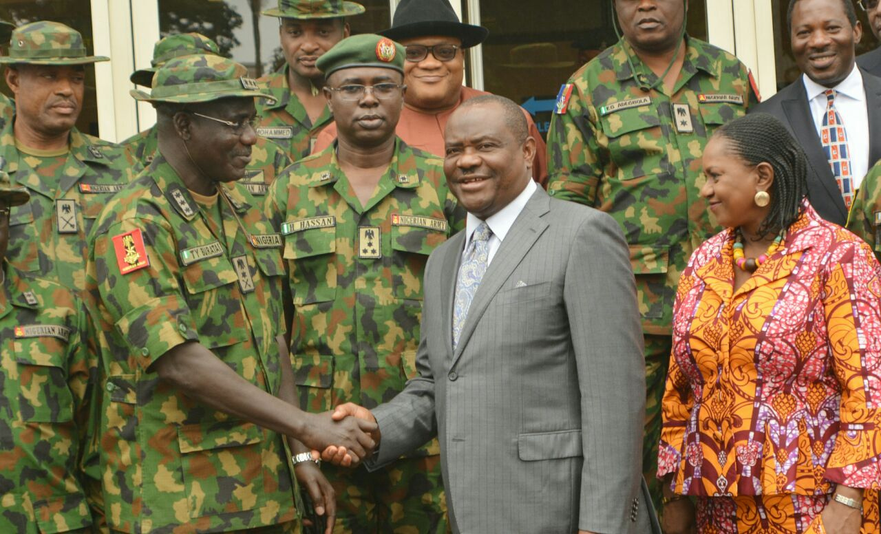 The Chief of Army Staff, Lieutenant General Tukur Buratai explained that the Operation Crocodile Smile was introduced to train army personnel on the techniques of operating in the Niger Delta.