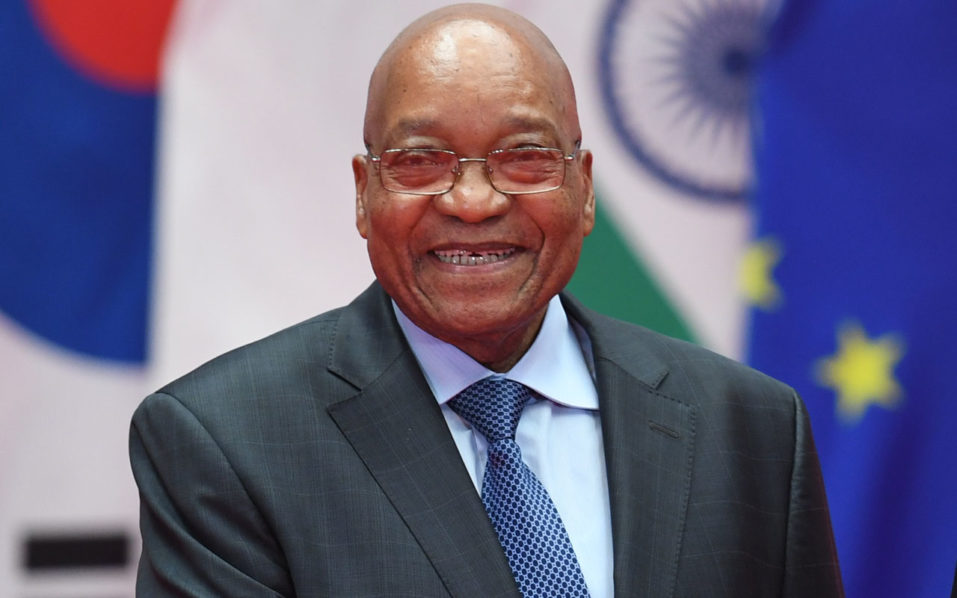 South Africa's President Jacob Zuma  / AFP PHOTO / Greg BAKER