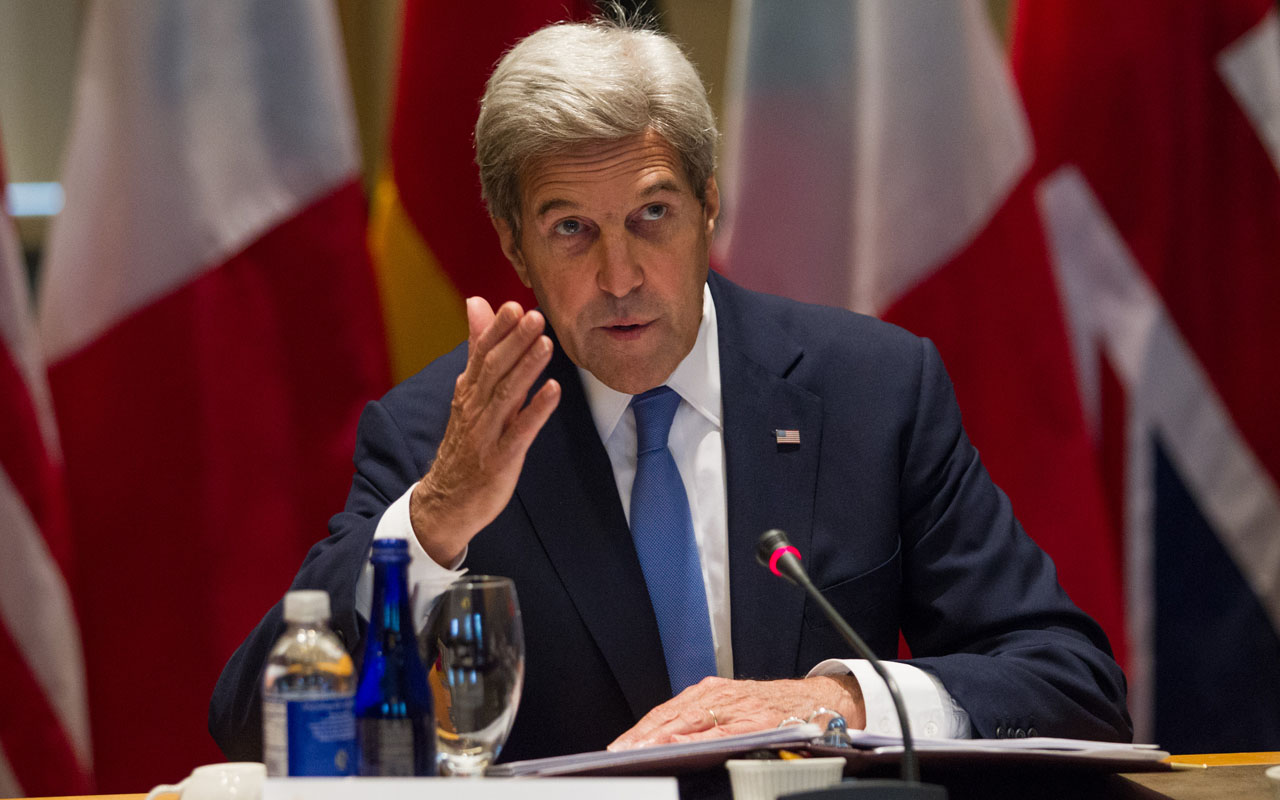 US Secretary of State John Kerry / AFP PHOTO / Matthew Healey