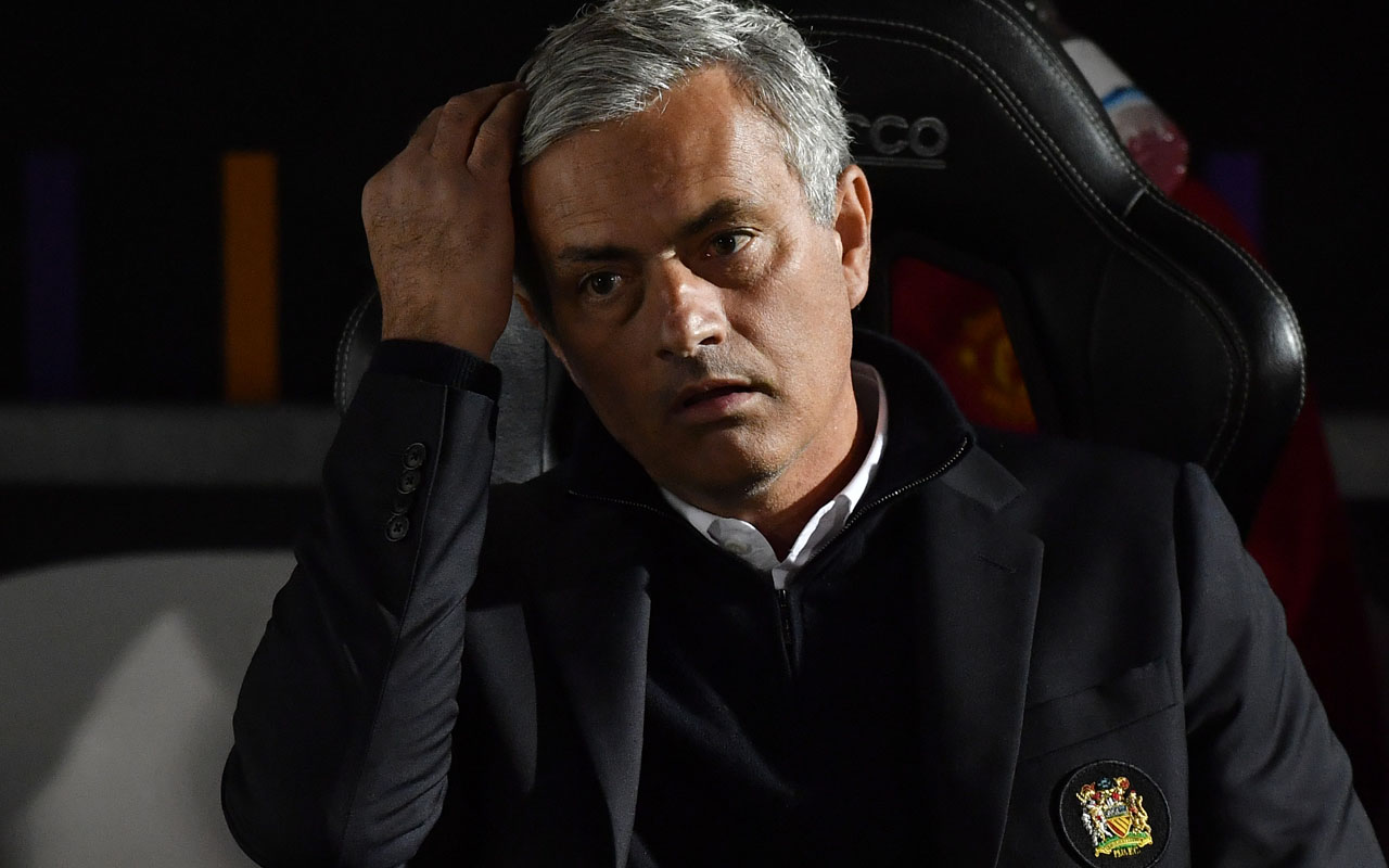 Manchester United's Portuguese manager Jose Mourinho/ AFP PHOTO / Ben STANSALL /