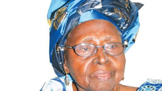 Chief Mrs. Hannah Idowu Dideolu (H.I.D)