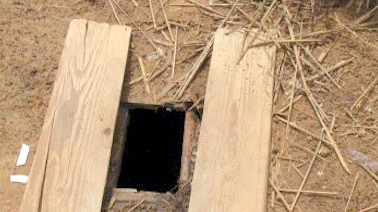 A typical latrine