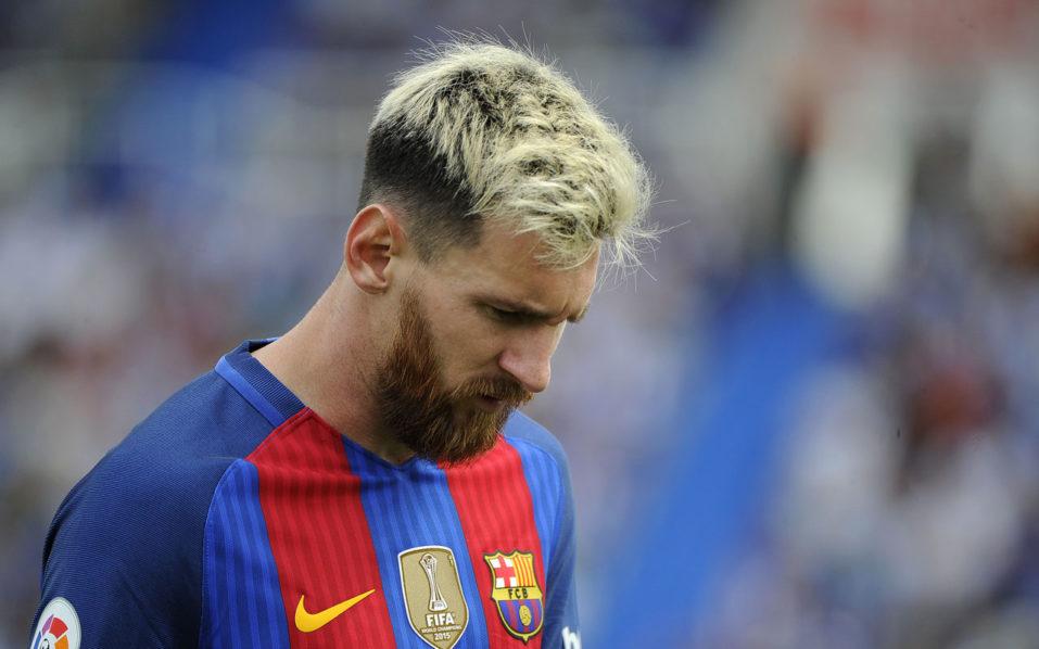 Barcelona's Argentinian forward Lionel Messi / AFP PHOTO / PEDRO ARMESTRE
