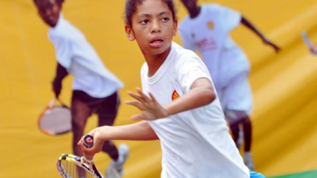 Angel Mcleod is on an impressive run at the on-going West/Central Africa U-18 Tennis Championship in Togo.