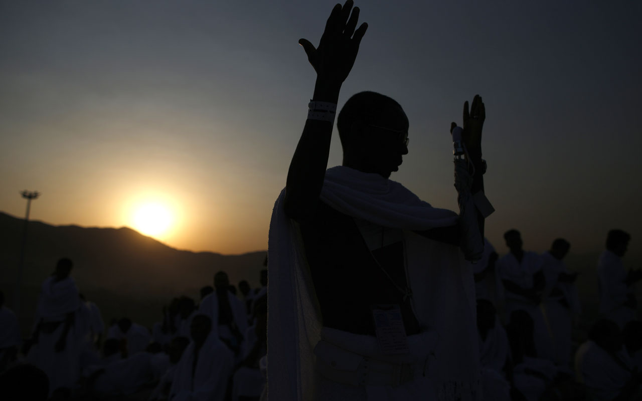 Muslim pilgrims / AFP PHOTO / AHMAD GHARABLI