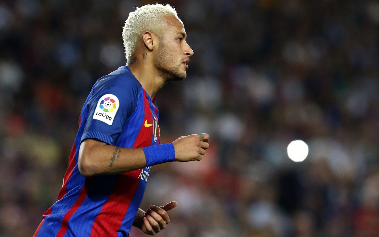 Barcelona's Brazilian forward Neymar. / AFP PHOTO / PAU BARRENA