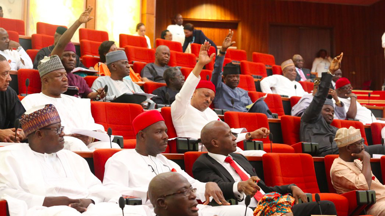 Image result for NigBREAKING: Senate confirms five CBN nominees, rejects oneeria senate
