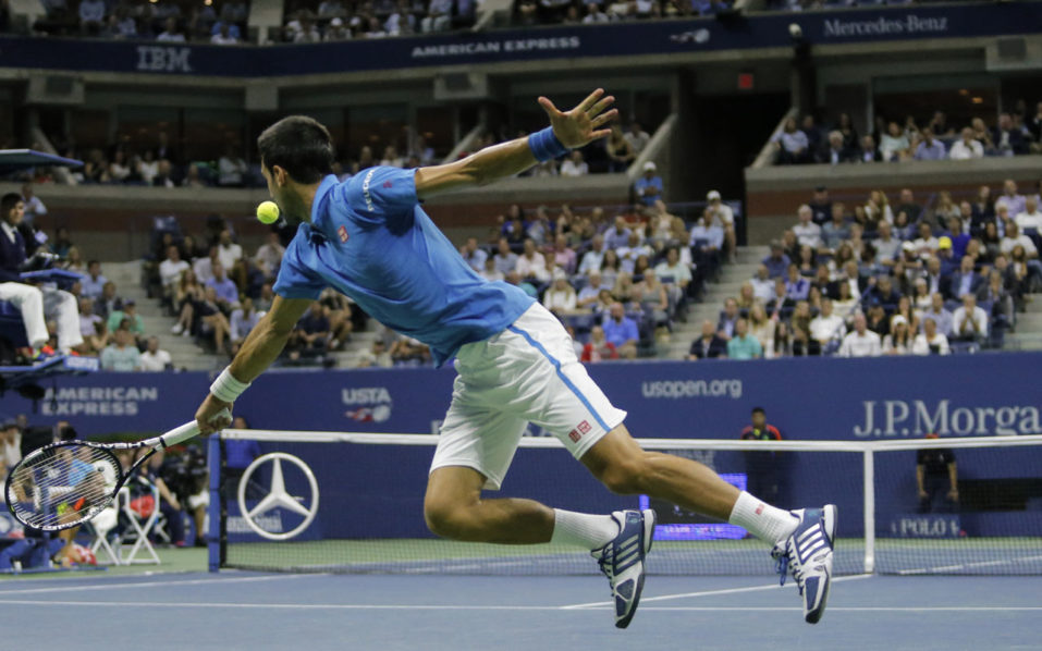 Novak Djokovic / AFP PHOTO / KENA BETANCUR