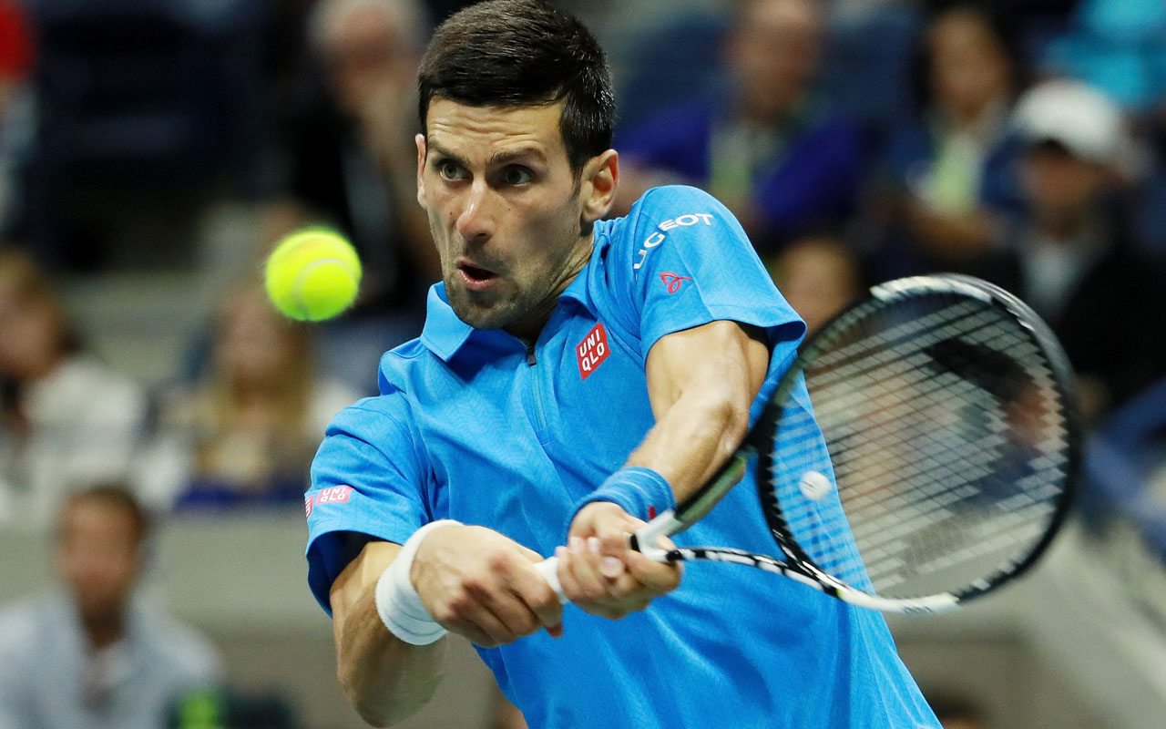 Novak Djokovic of Serbia / Michael Reaves/Getty Images/AFP