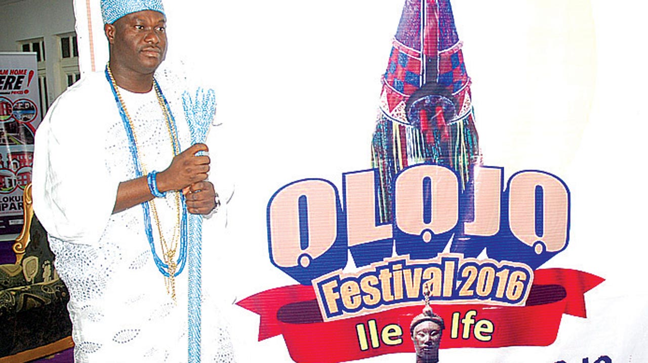 Olojo festival logo unveiled by the Ooni