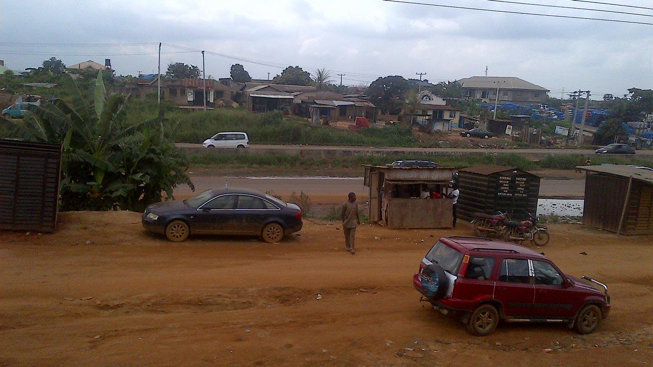 Aerial view of Mowe area in Ogun State PHOTO: BERTRAM NWANNEKANMA